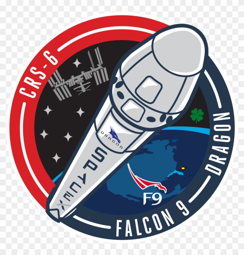 Related Spacex Rocket Clipart - Spacex Falcon 9 Logo - Free