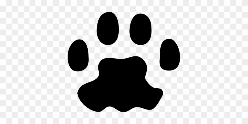 Foot, Print, Animal, Paw, Cat, Track - Cat Paw Print Vector #693907