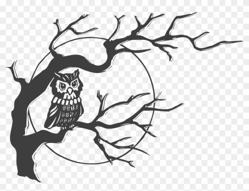 Spooky Full Moon Drawing Easy Www Picturesboss Com