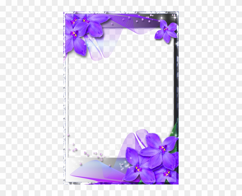Purple Heart Frames - Blue Wedding Borders And Frames - Free ...