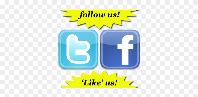 Make Sure To Follow Us On Twitter And Like Us On Facebook - Facebook Icon #695875