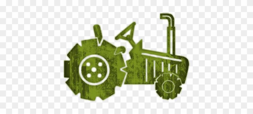 Green Tractor Art - Tractor Clip Art #696286