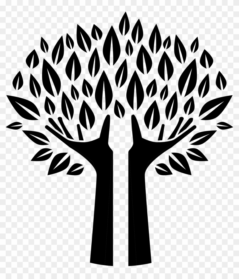 Simple Bare Tree Silhouette Download - Tree Silhouette Clipart #696379
