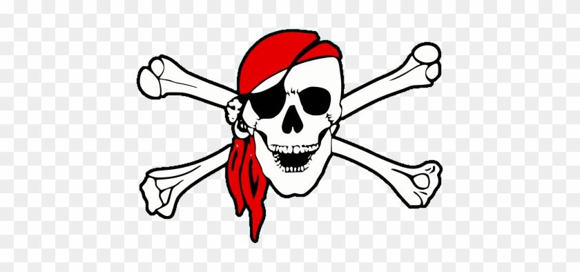 Logo - Skull And Crossbones Pirate #696383