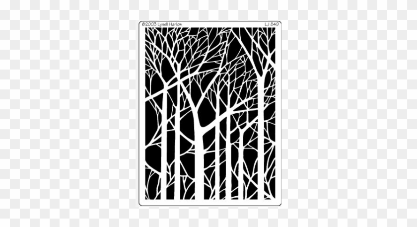 Bare Trees Tree Paper Cut Out Template 696486