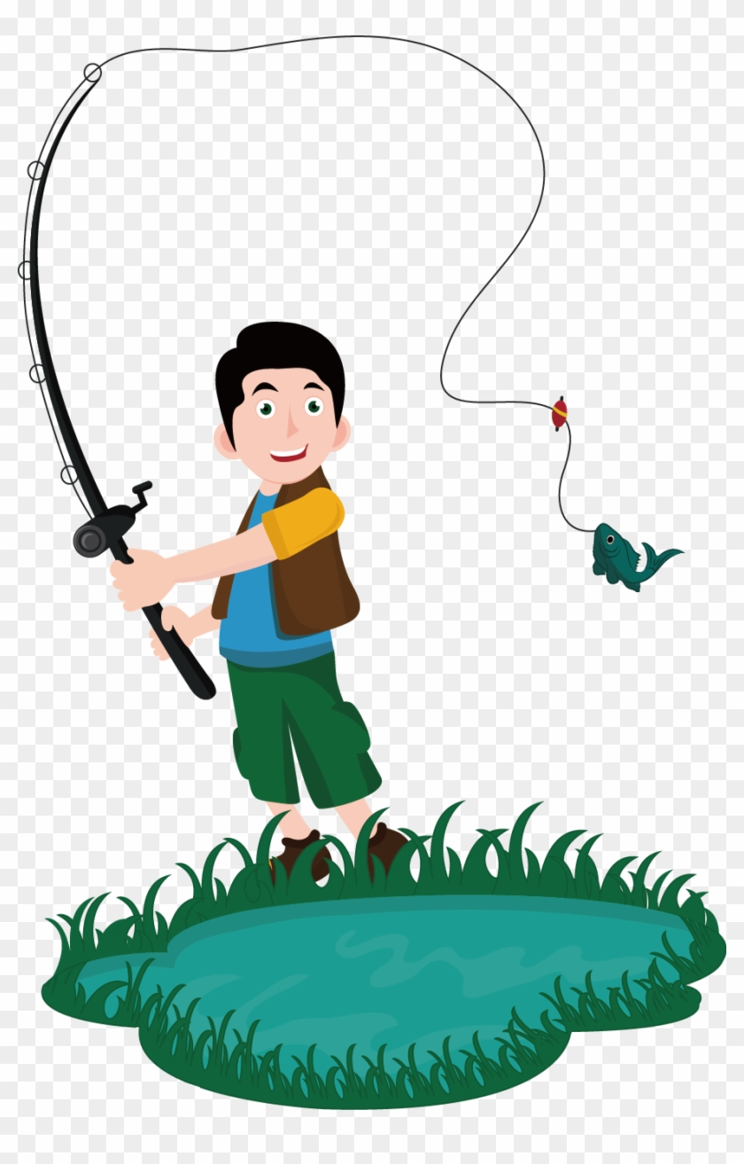 Fishing Rod Euclidean Vector Drawing Fishing Rod Euclidean Vector Drawing Free Transparent Png Clipart Images Download