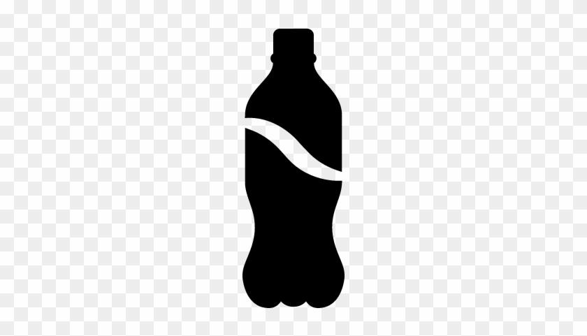 Soda Bottle Vector - Soda Bottle Icon #696505