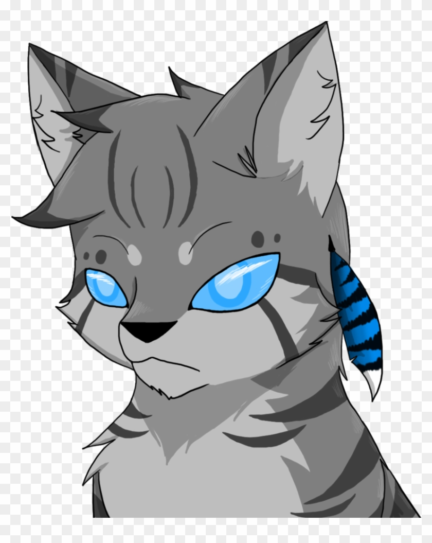M I A How To Draw Warrior Cats Anime For Kids Jay Feather Png 840x1055
