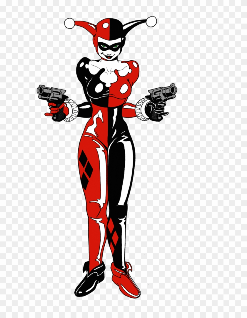 Harley Quinn Original By Spike616satan On Deviantart Original Harley Quinn Drawing Free Transparent Png Clipart Images Download