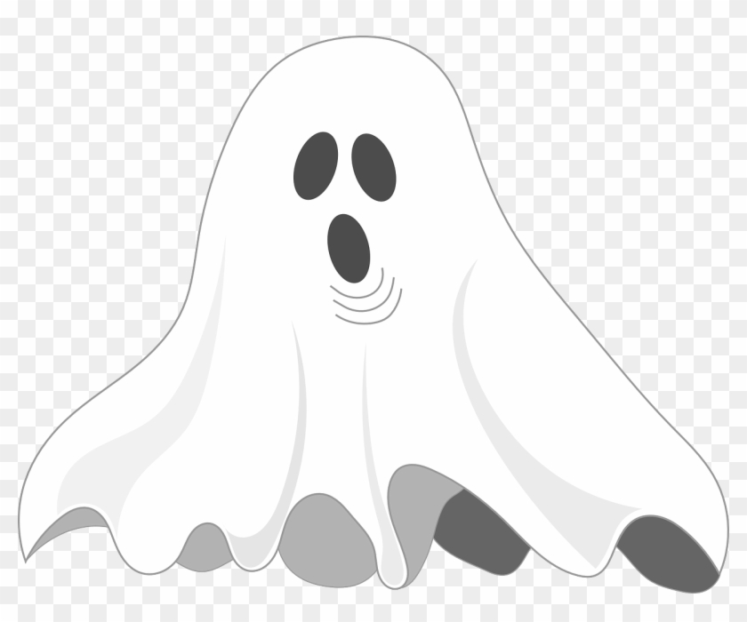 Scottish Family Offers £50,000 For Nanny Job In Haunted - Simple Ghost Illustration Halloween Pendant Necklace #697366