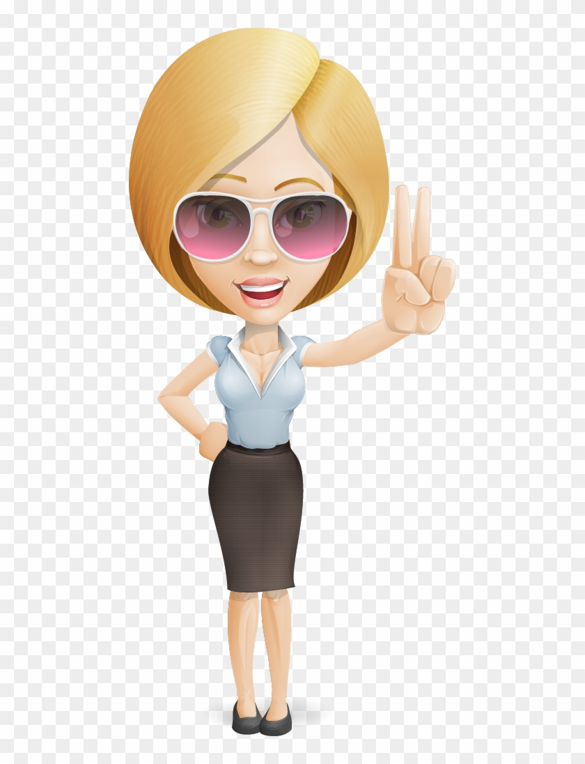 cartoon woman clip art - 728×1016