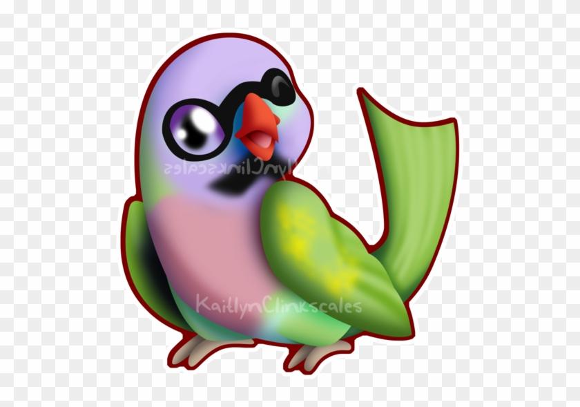 Pete The Parrot By Clinkorz - Lovebird #699151