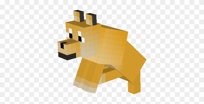 Wolf Nova Skin Minecraft Doge Texture Pack Free Transparent Png Clipart Images Download
