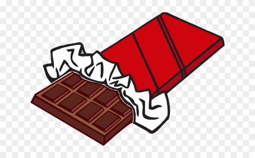 Chocolate Clipart - Clip Art Chocolate Bar #699534