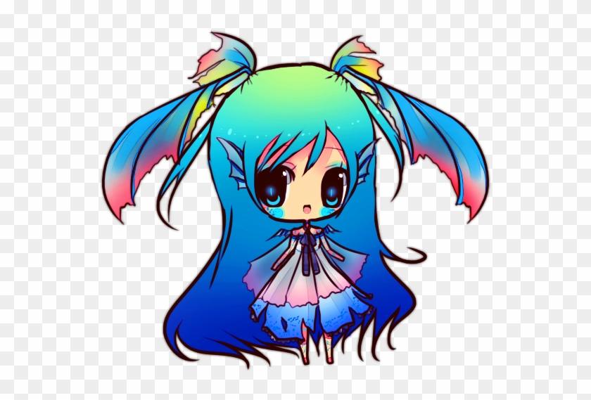 Chibi Dragon Anime Drawing #700065