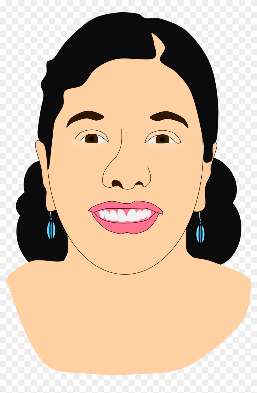 Asian Cartoon Face 3, Buy Clip Art - Cartoon Asian Indian #700237