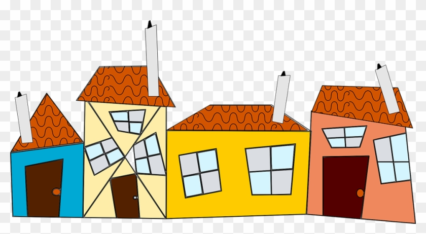 Neighborhood House Cliparts 6, Buy Clip Art - Social Studies 3rd Grade #700762