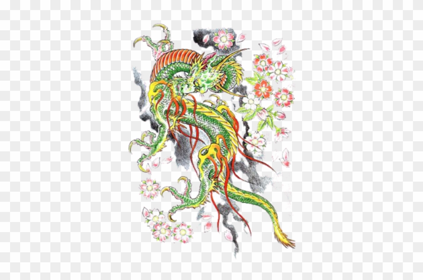 Dragon Tattoos Png Chinese Tattoo Design Png Free Transparent Png Clipart Images Download