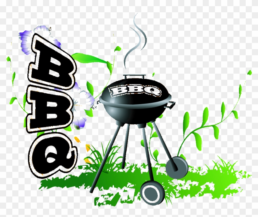 Barbecue Grill Furnace Grilling Illustration - Barbecue Grill Furnace Grilling Illustration #701084