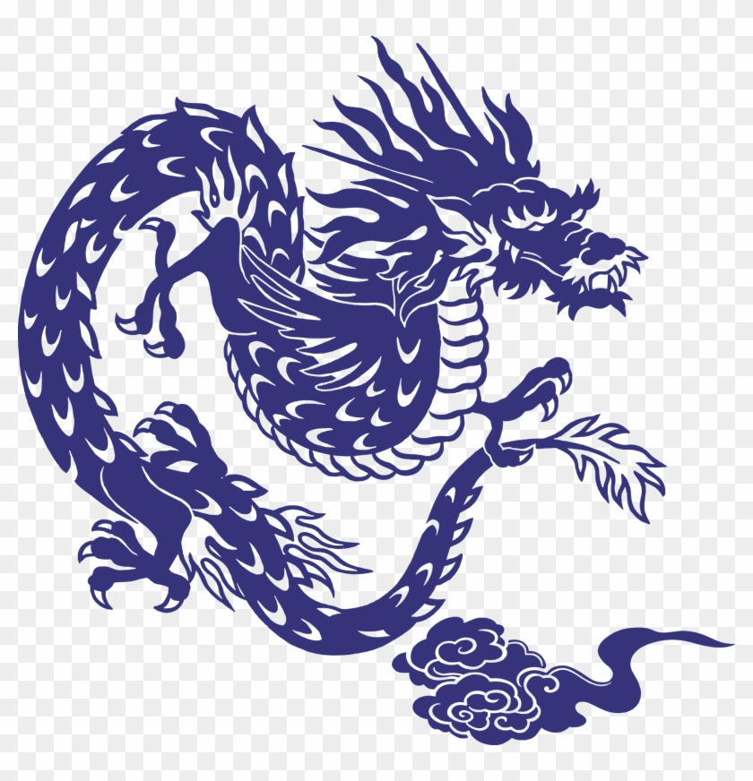 Japanese Dragon Chinese Dragon - Dragon Japanese Vector #701238