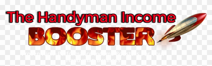 The Handyman Income Booster Logo - Fun Physics Projects For Tomorrow's Rocket Scientists #702065