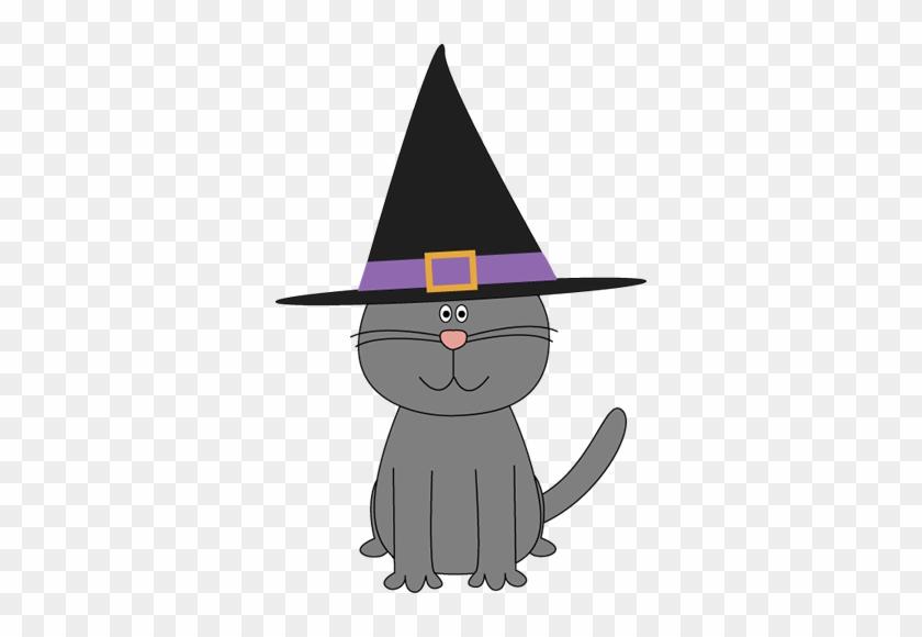 Cute Halloween Cat Clipart - Cute Halloween Cat Clipart #702511