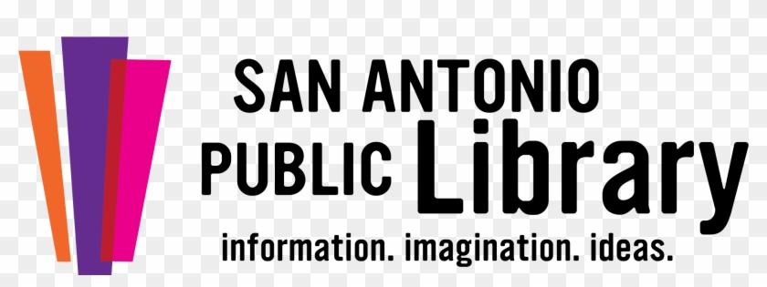 Library Book Collections - San Antonio Public Library Logo #702603