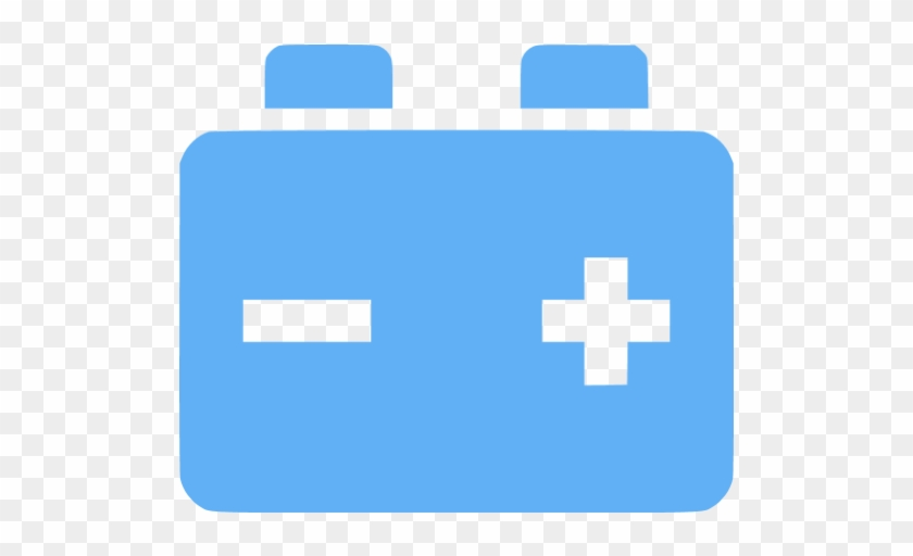 Car Battery Icon Blue Free Transparent Png Clipart Images Download