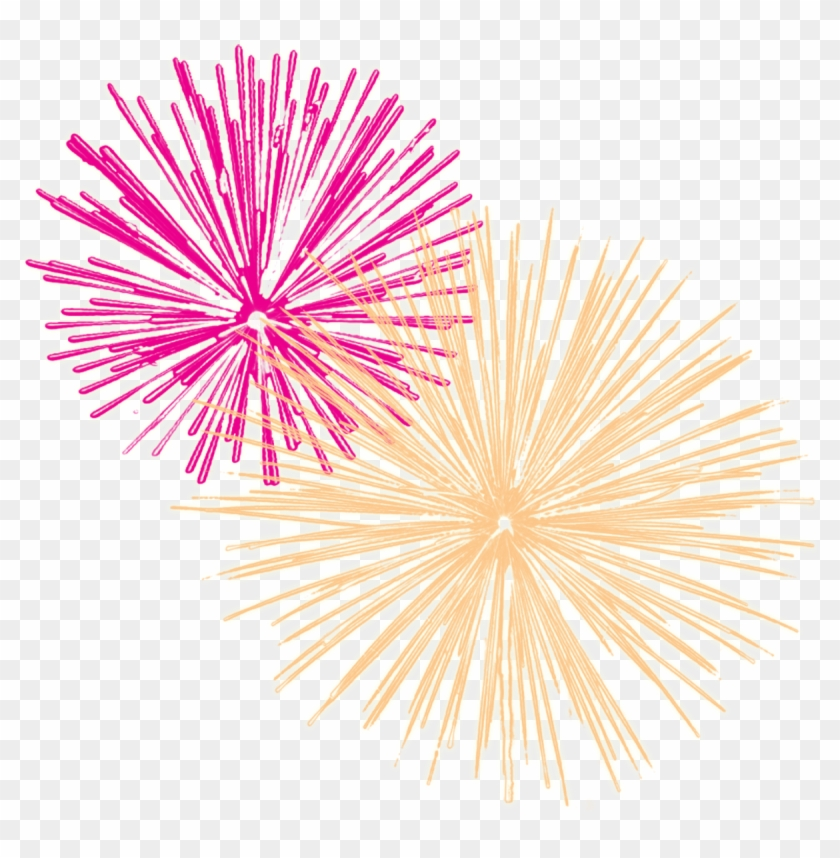 New Years Fireworks Clip Art