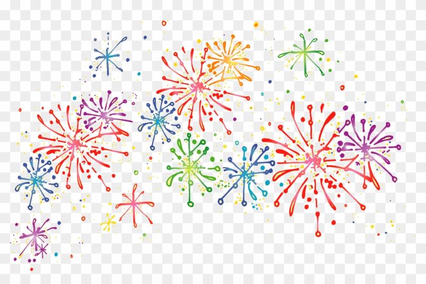 Fireworks Png - Transparent Background Fireworks Clipart #703566