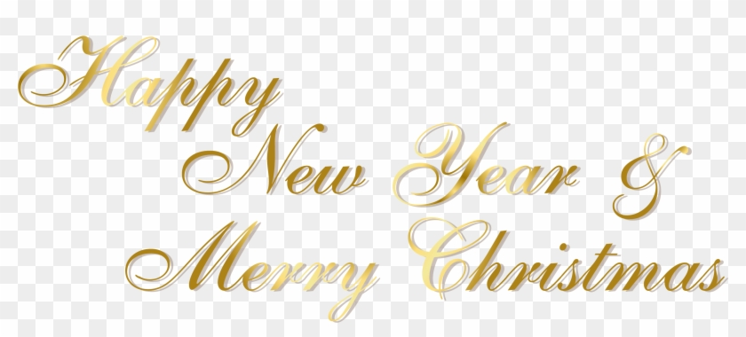 Gold Happy New Year And Merry Christmas Png Text Merry Christmas And Happy New Year 2018 Text Free Transparent Png Clipart Images Download Choose from 3000+ happy new year 2019 graphic resources and download in the form of png, eps, ai or psd. gold happy new year and merry christmas