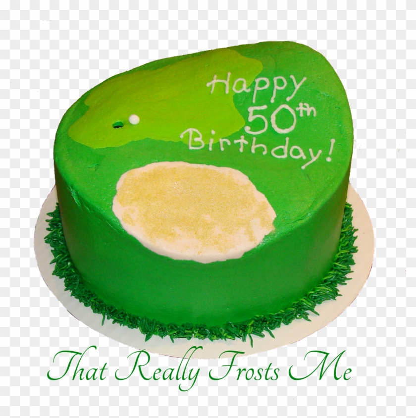 Pleasant That Really Frosts Me Golf Cake Tutorial Play Ball Birthday Cake Personalised Birthday Cards Arneslily Jamesorg