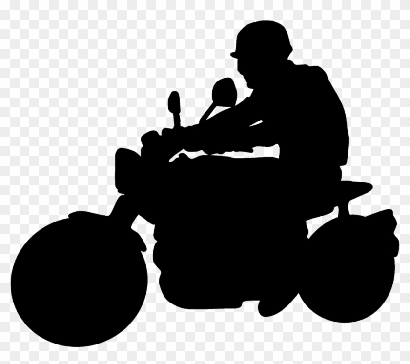 How To Ride A Motorcycle Motorcycle Rider Silhouette Png Free