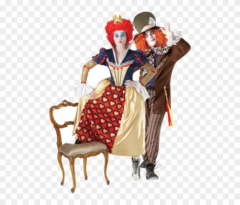 Of The Characters From Tim Burton's Modern Take On - Queen Of Hearts Fancy Dress #704580