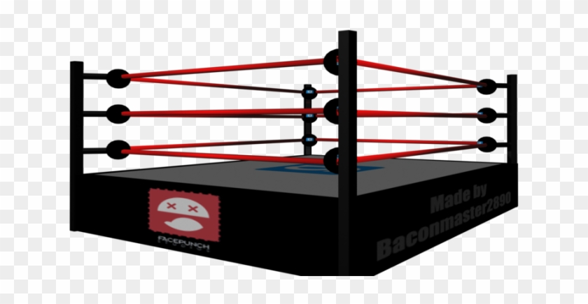 Pin Wrestling Ring Clipart - Pro Wrestling Ring Png #705196