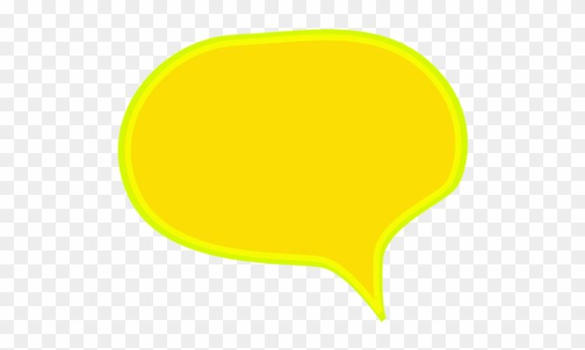 Comic Style Speech Bubble - Yellow Comic Speech Bubble Png #705473