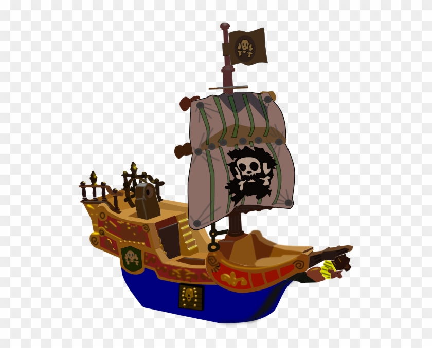 Pirate Ship Clipart Png #705742