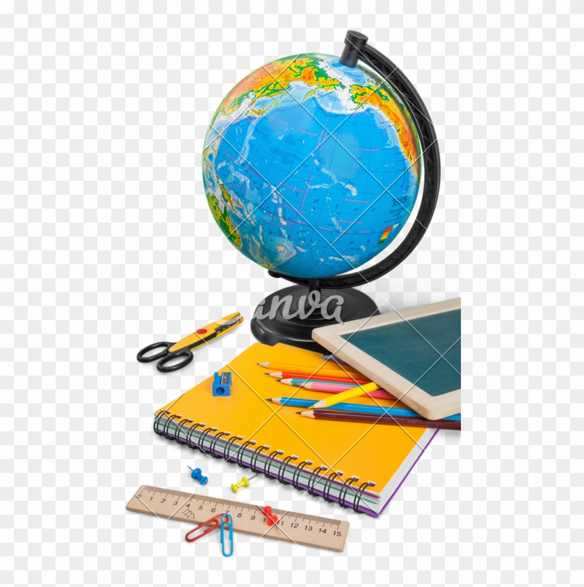 Colorful School Supplies - Globe #706450