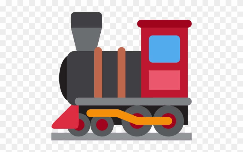 Locomotive, Engine, Railway, Steam, Train, Emoj, Symbol - Steam Locomotive Icon #706747