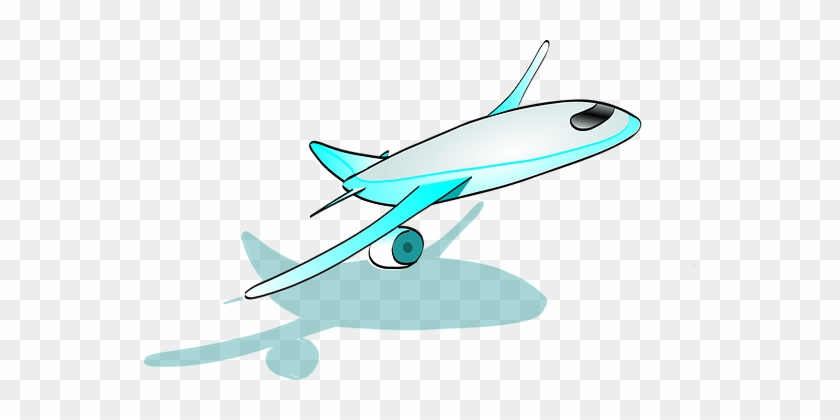 Airplane Flight Transportation Airport Air - Cartoon Plane Taking Off #707287