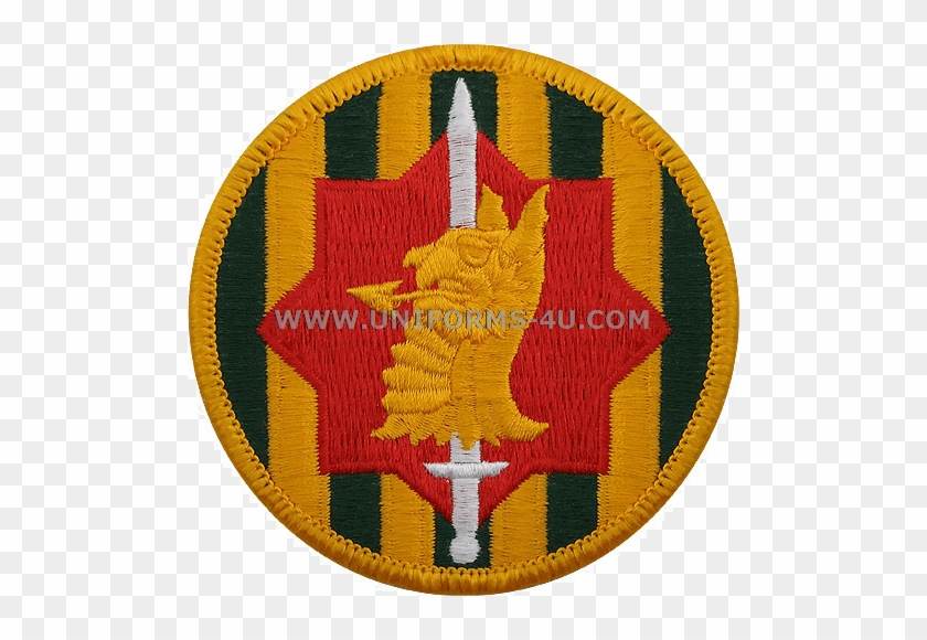 89th Military Police Brigade Class A Patch #707358