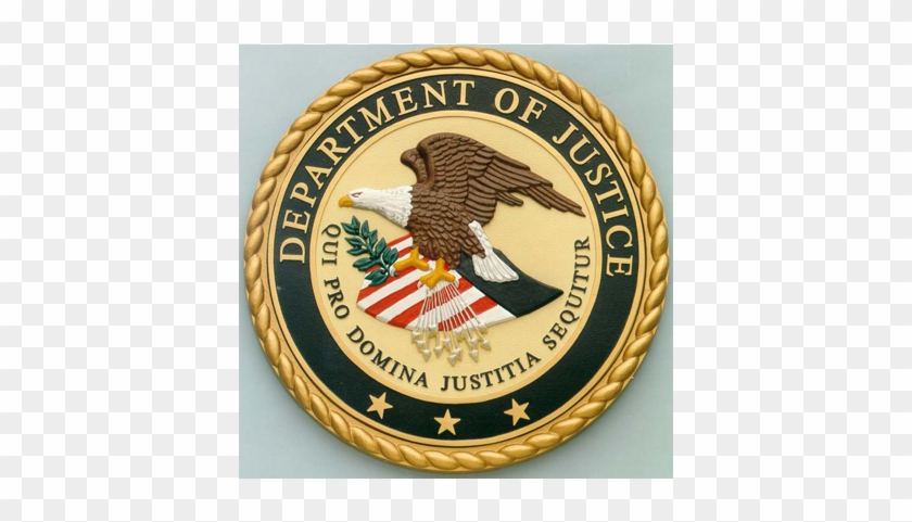 Bronze Military Plaques And Seals - United States Department Of Justice #707441