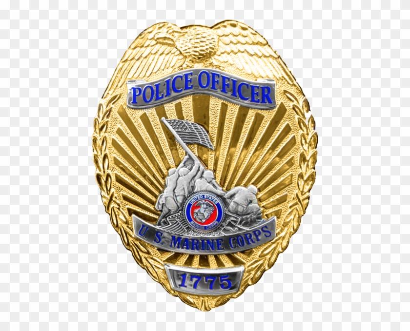 Military Police Officer Badge - Usmc Military Police Badge #707452