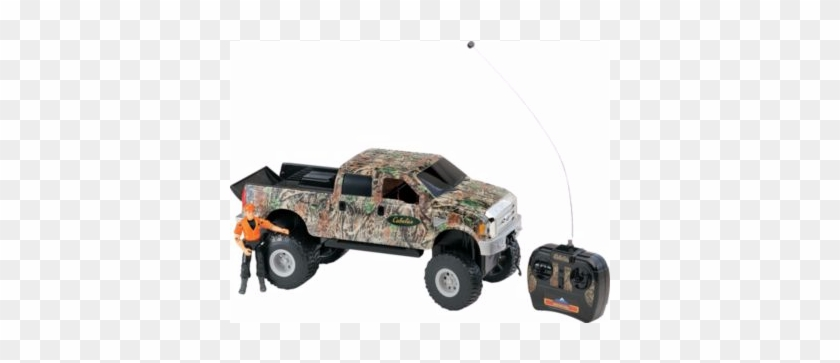 Stay Tuned As More And More Items And Their Generous - Cabela's Radio-controlled Camo Wrapped Ford F-350 Set #708897