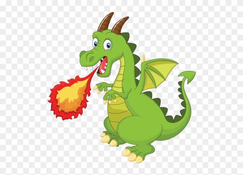 Картинка злого дракоши