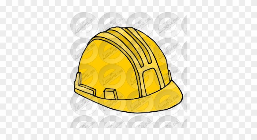 Pin Hard Hat Clipart - Hard Hat #709686
