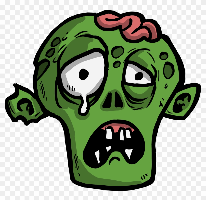 The Png Zombie Face Cartoon Free Transparent Png Clipart