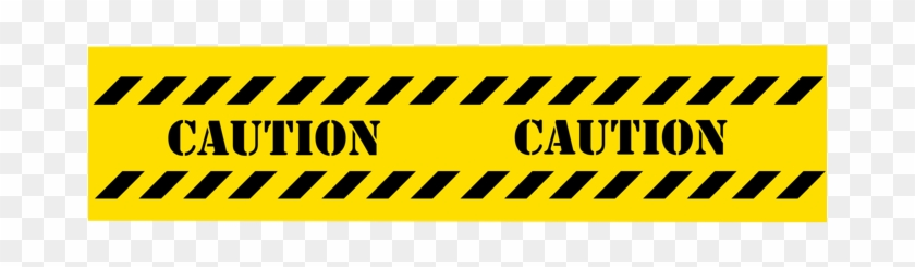 Under Construction Caution Tape - Transparent Backround With Caution Tape #710272