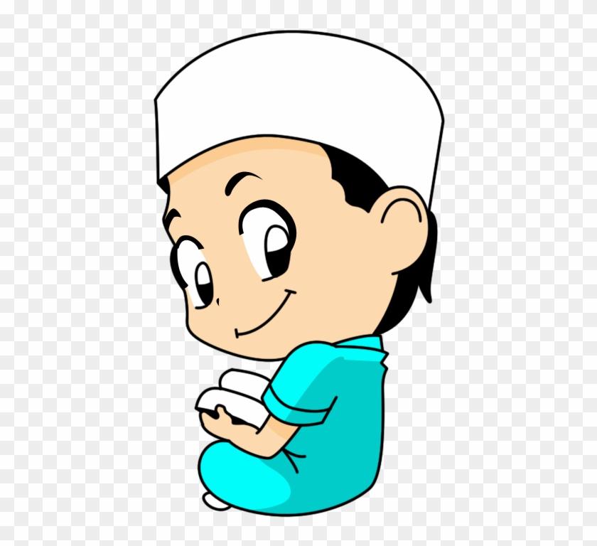 Quran Muslim Islam Cartoon Child