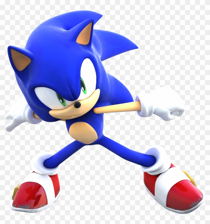 Sonic The Hedgehog Sonic X Pose Free Transparent Png Clipart Images Download